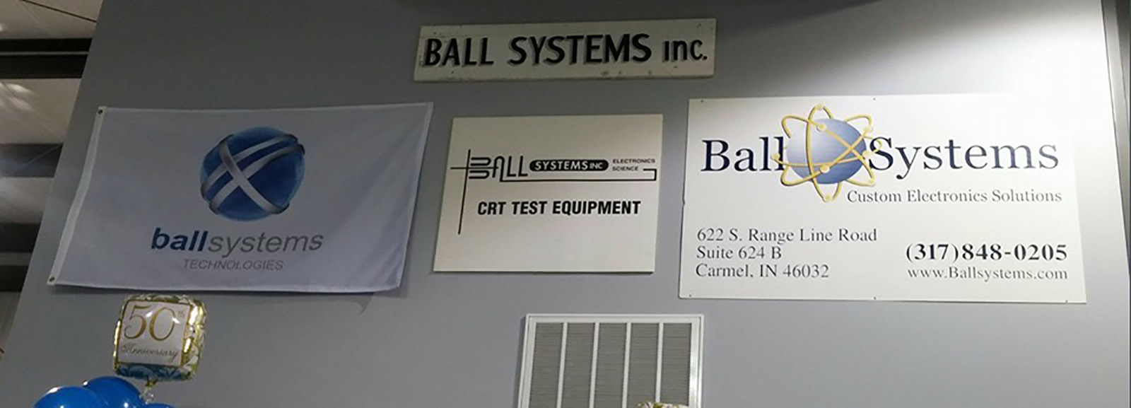 Ball Systems history