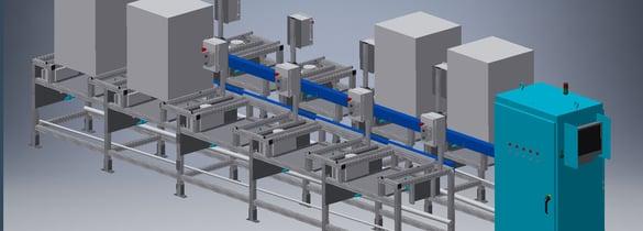Custom dishwasher EOL audit system.