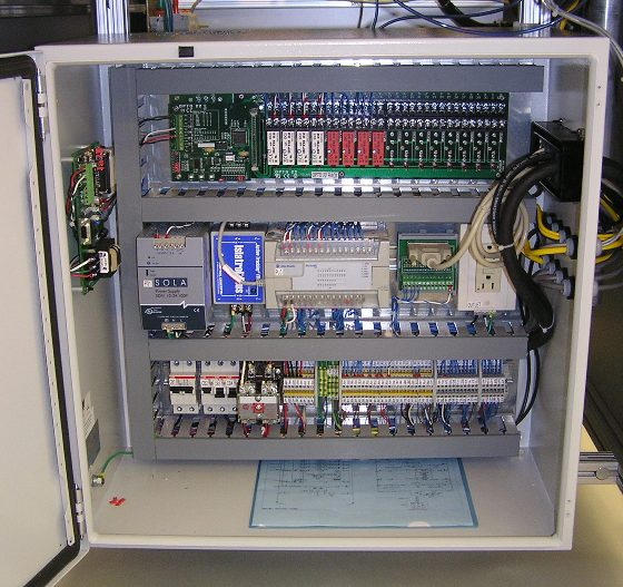 Automation system control panel and enclosure