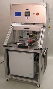 Custom test station for hybrid technology engine control modules that meets high voltage, high power, and automation requirements.