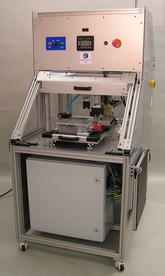 Custom test station for hybrid technology engine control modules