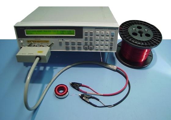Custom Toroidal Inductor & LCR Meter