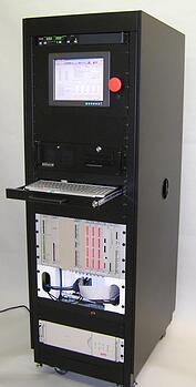 NI PXI Test Cabinet with Custom Card Cage