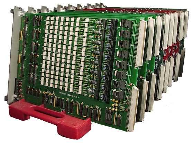 Rack of LBX Load Boards