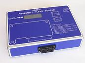 Custom designed portable test box to emulate factory test in self-contained platform that includes custom firmware, FPGA, etc.