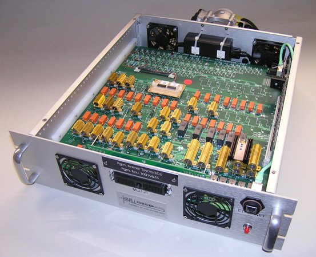 "19"" rack-mountable programmable custom load box"