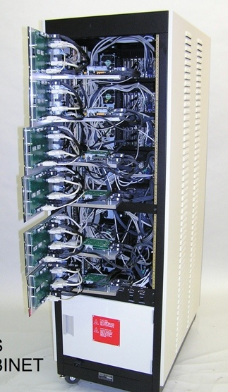 Custom designed programming station to provide simultaneous EEPROM in-line programming in high-speed line.