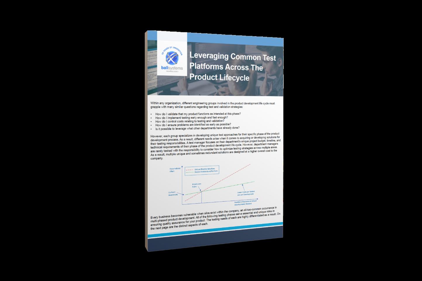 3D Leveraging Common Platforms Cover