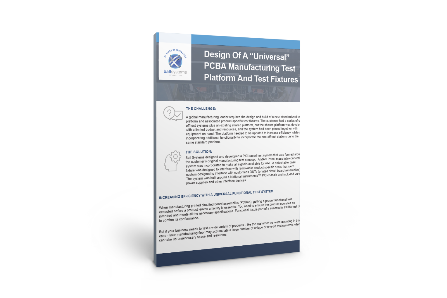 3D Universal Tester Case Study Cover