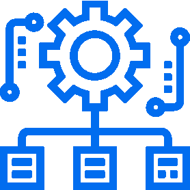 blue system icon