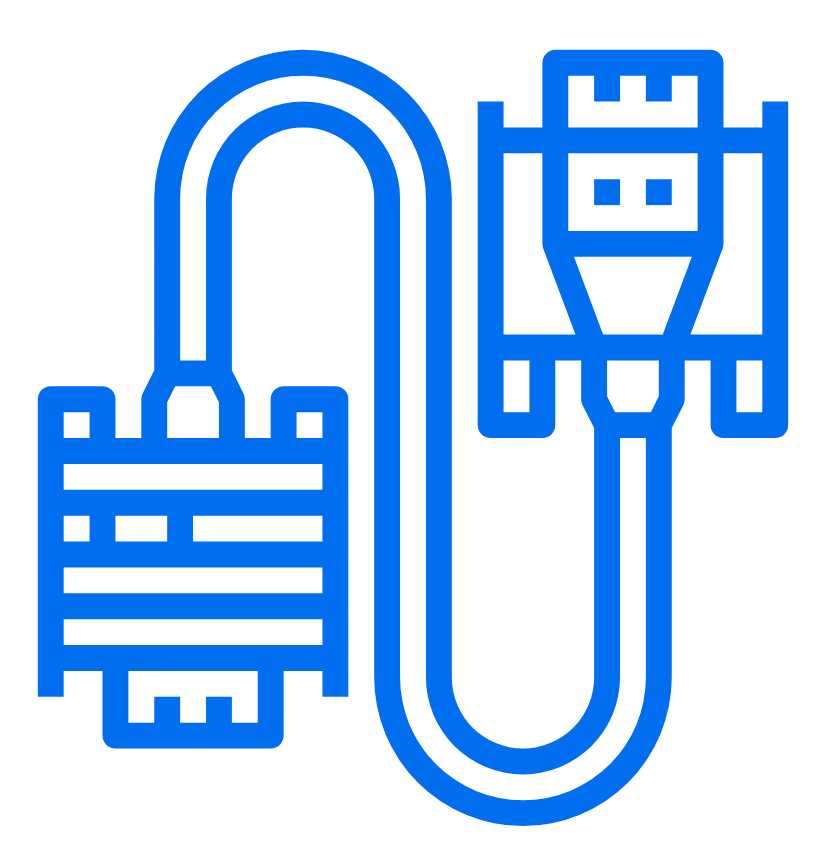 build-to-print custom cables icon