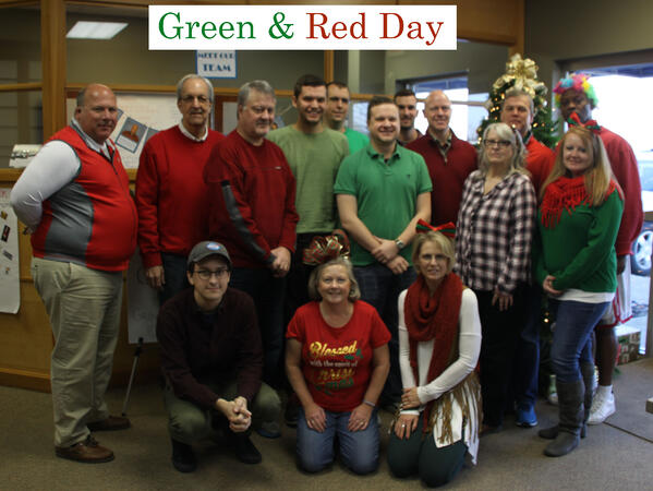 Green and Red Day