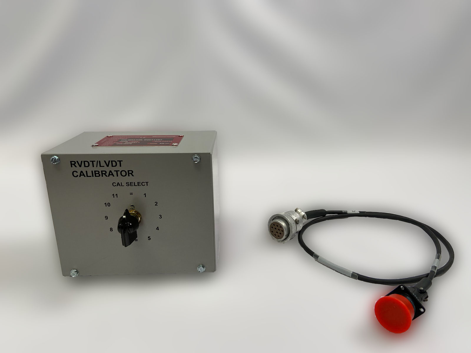 RVDT/LVDT Calibrator box and chord