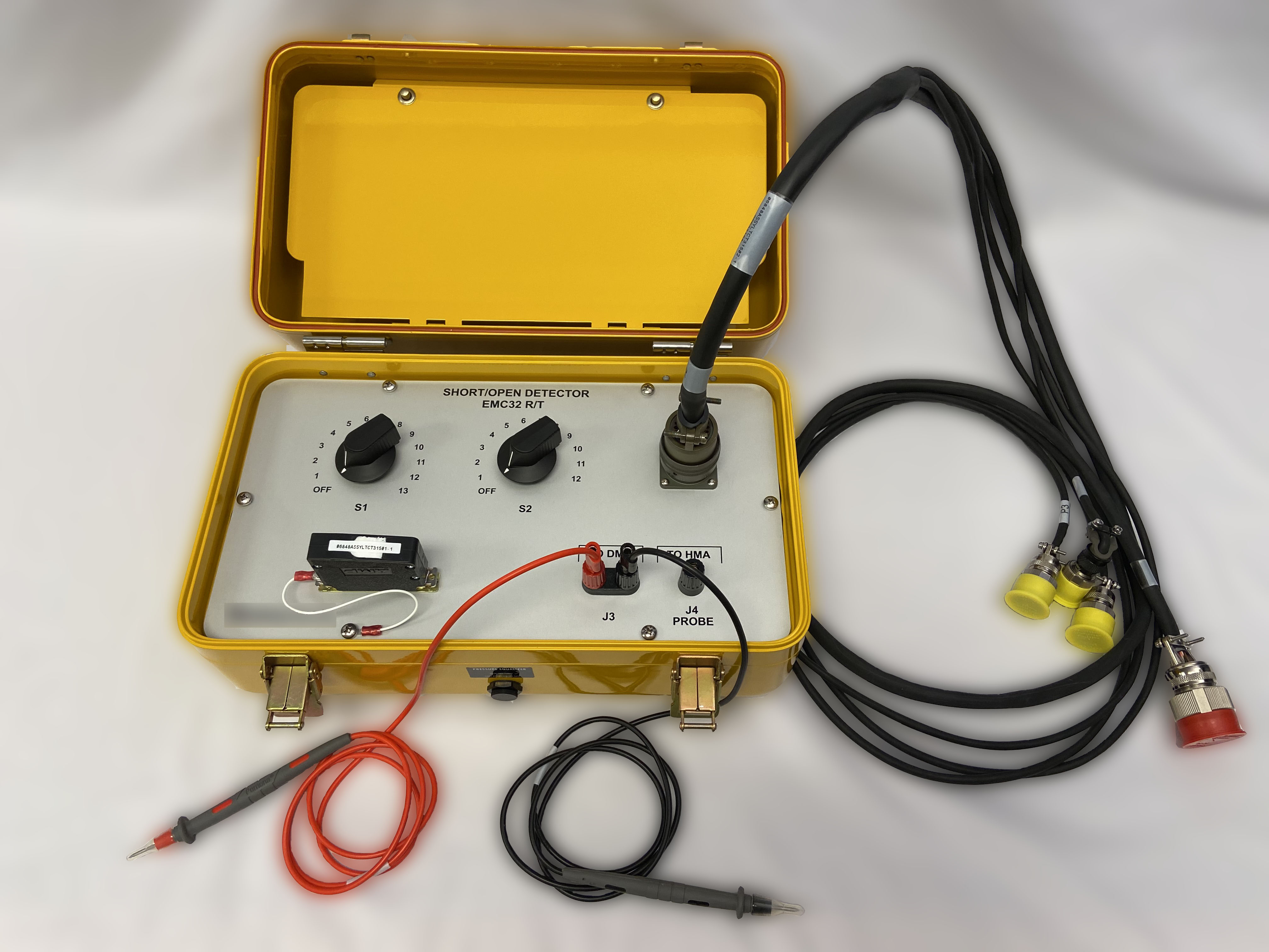 Hydromechanical Unit Continuity Test Box