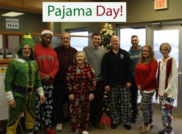 Pajama Day 2018