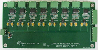 Ball Systems Current Measurement Board