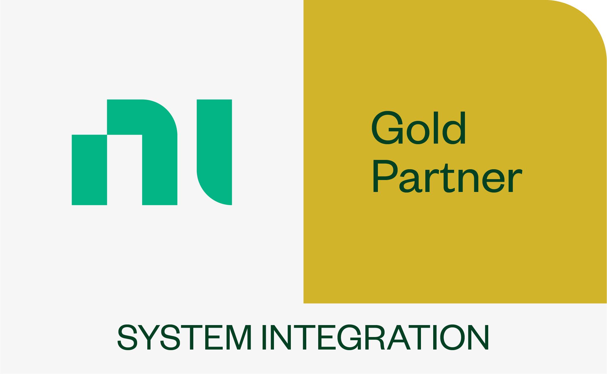 NI Gold Partner Program Logo